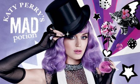 Katy Perry for Mad Potion fragrance advertisement