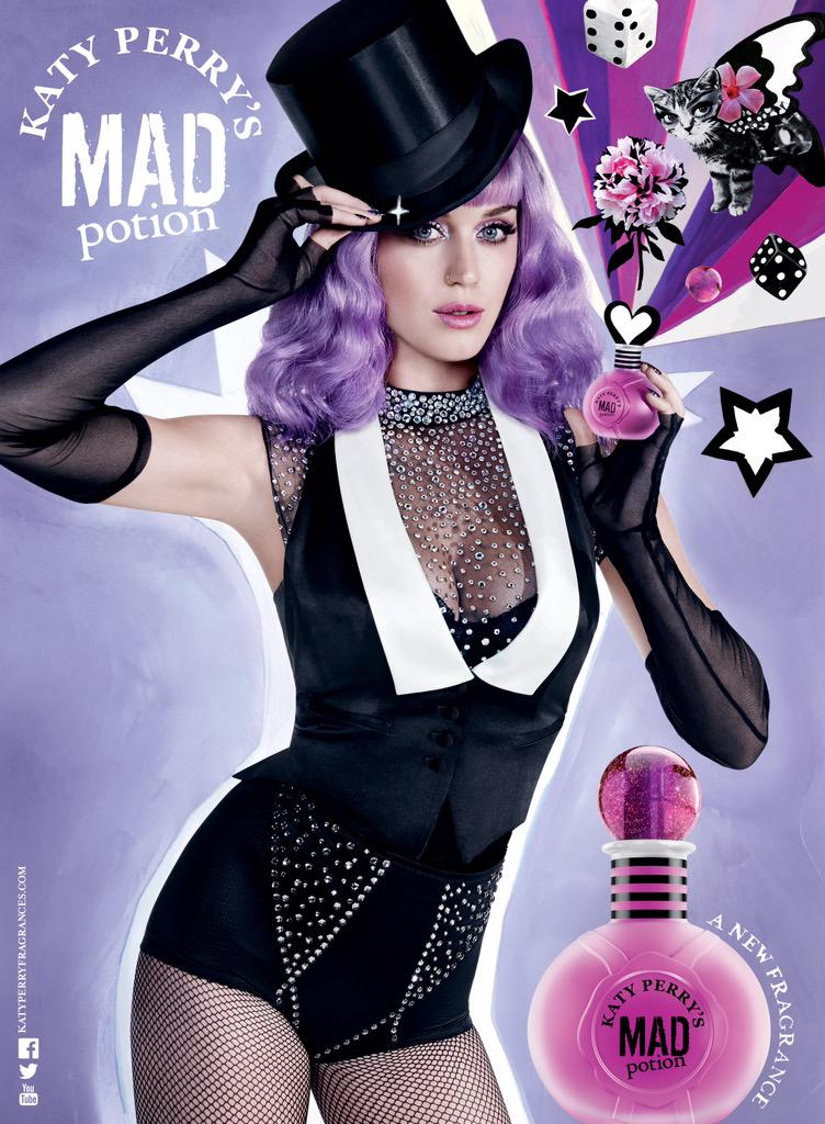 Katy Perry is a Sexy Magician in 'Mad Potion' Perfume Ad