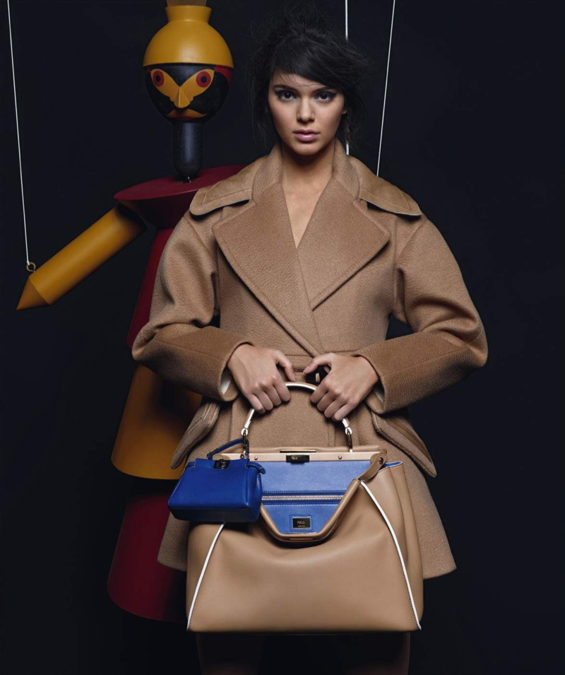 Get a First Look at Kendall Jenner's Fendi Campaign