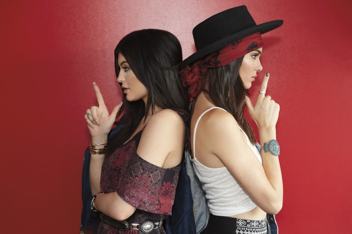Kendall + Kylie Jenner Launch Western Inspired PacSun Collection