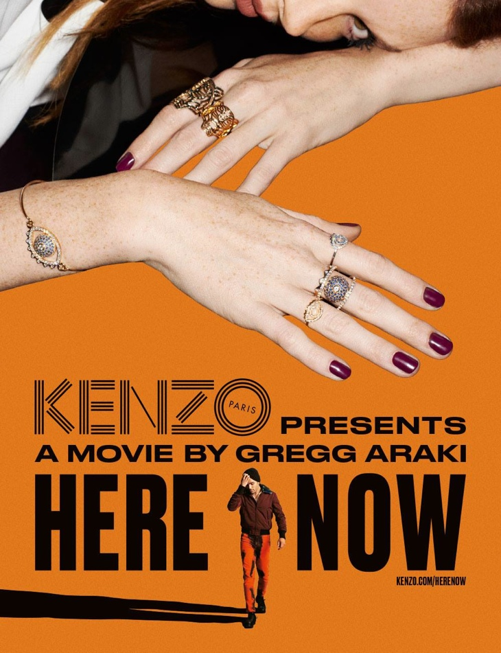 Kenzo Creates Movie Posters for its Fall 2015 Campaign