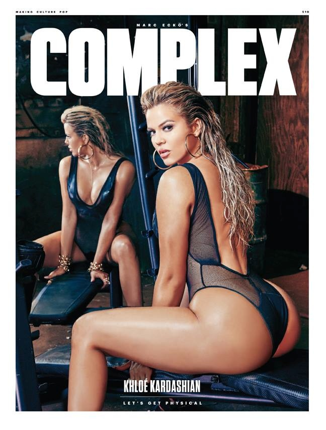 Khloe Kardashian Hits the Gym for Hot Complex Cover Story