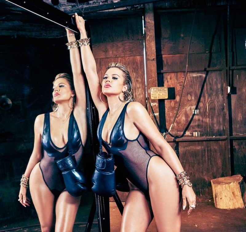 Khloe Kardashian Stars in Sexy Complex Cover Shoot
