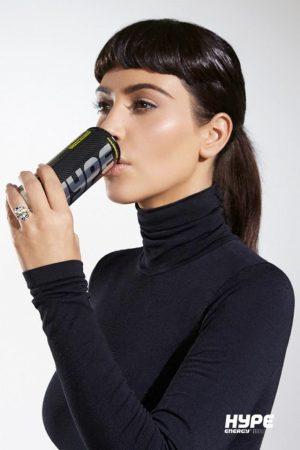 Kim Kardashian Channels Marie Antoinette, Audrey Hepburn for Hype Energy Film
