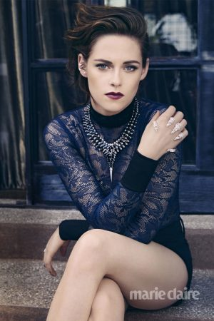 """Kristen Stewart Stars in Marie Claire: """"My Hair Was Such a Crutch"""""""