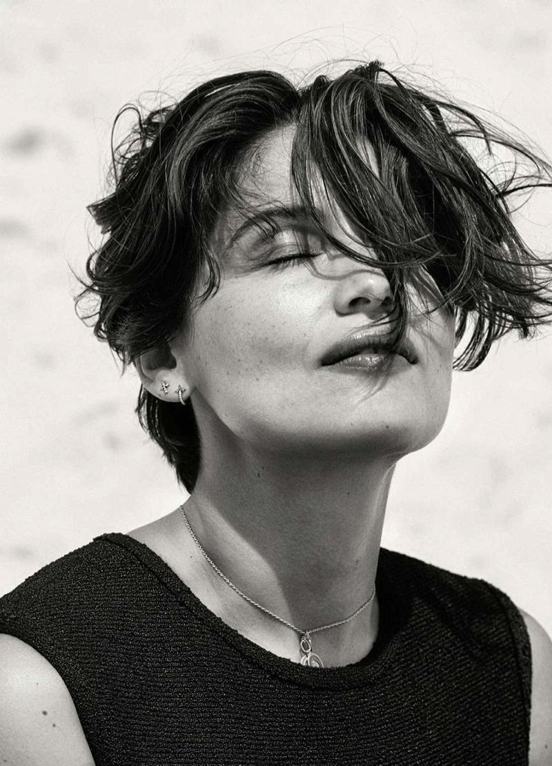 Laetitia Casta Showcases Natural Beauty in Cover Story for ELLE France