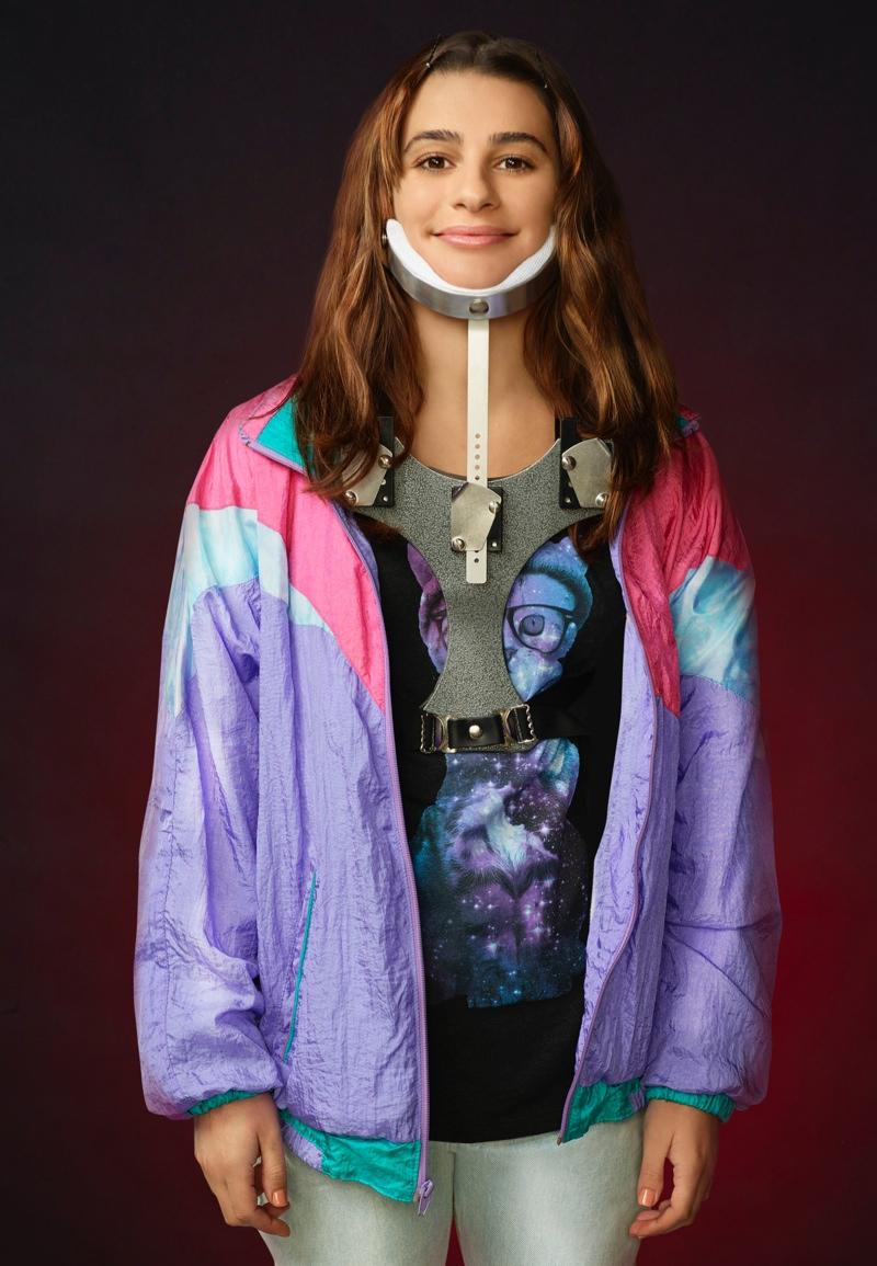 Lea Michele as Hester in Scream Queens