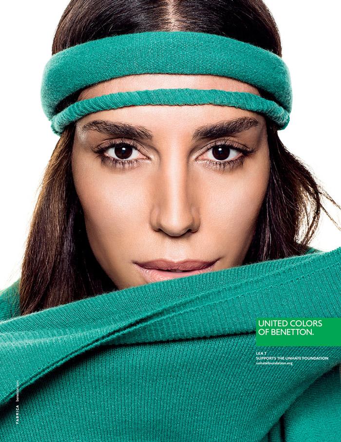Lea T. Photo: Benetton