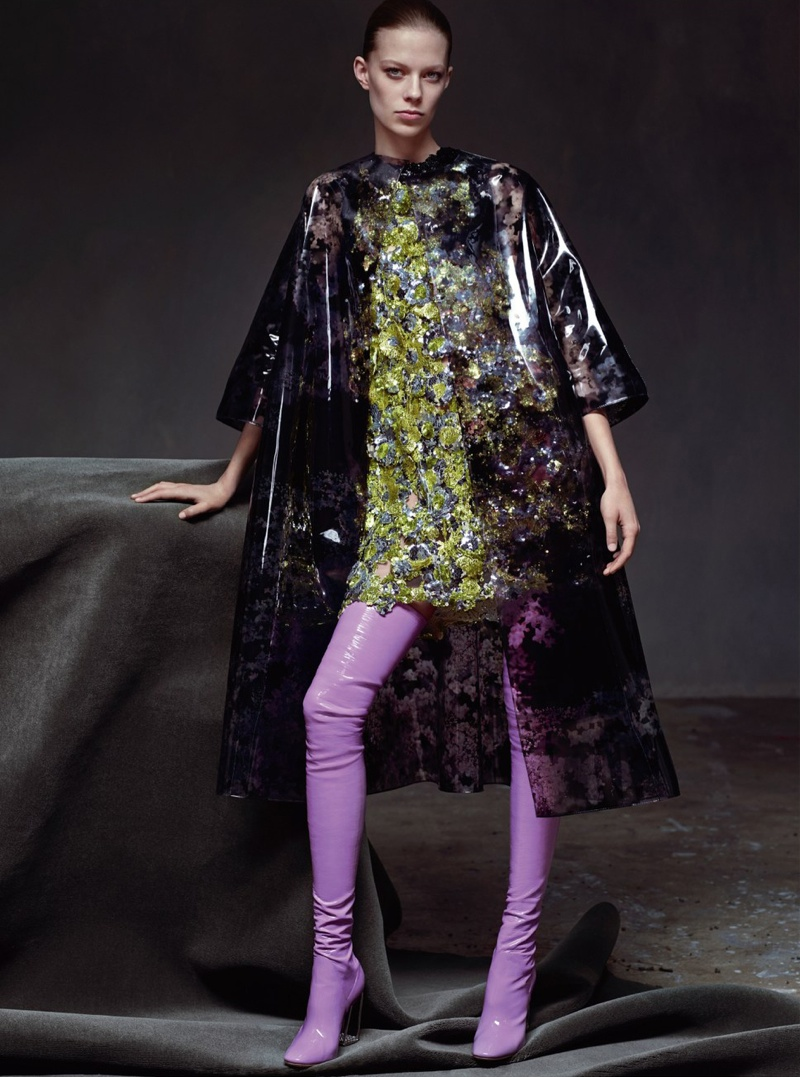 Lexi Boling Models Bold Haute Couture in Dior Magazine