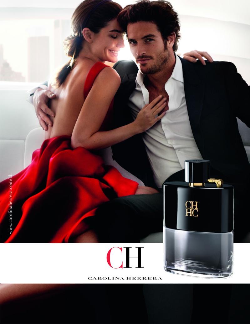 Lily Aldridge Looks Lovely in Red for New Carolina Herrera Fragrance Ads