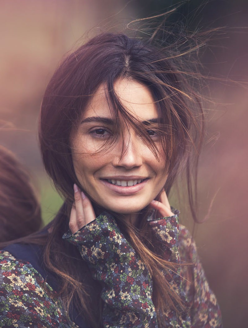 Lily Aldridge Embraces the Outdoors for Cover Story of Vogue Turkey