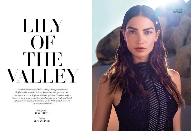 Lily Aldridge Goes High Fashion for L'Officiel Netherlands Cover Story