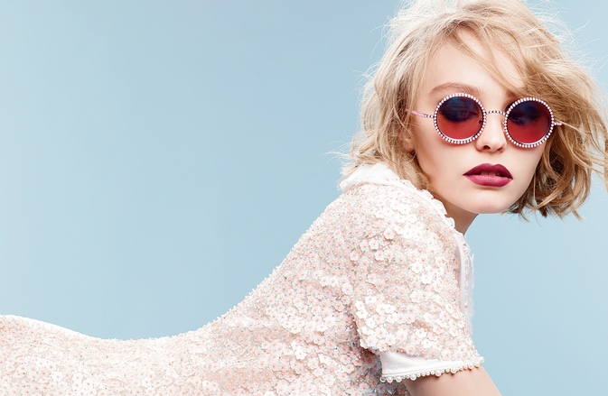 Lily-Rose Depp for Chanel Eyewear