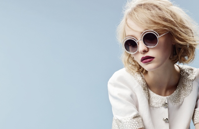 Lily-Rose Depp fronts Chanel Eyewear advertising campaign
