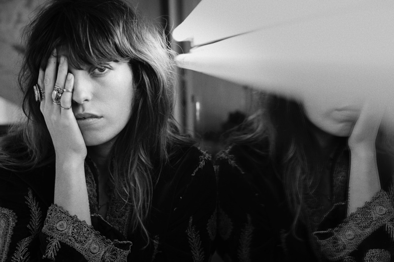 Lou Doillon Wears Effortless Style for S Moda by Eric Guillemain