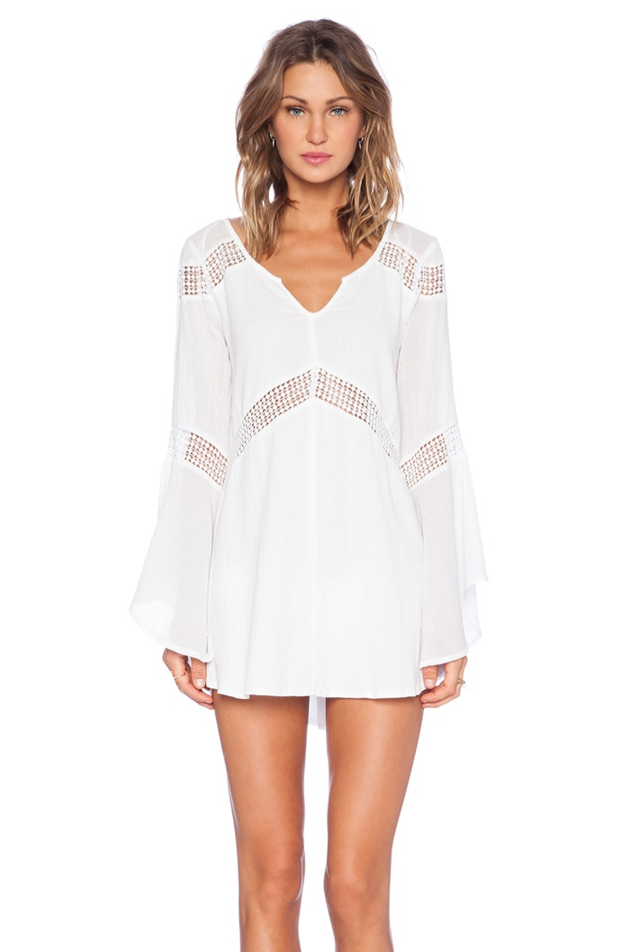 L*SPACE 'Bloomfield' White Tunic available for $129.00