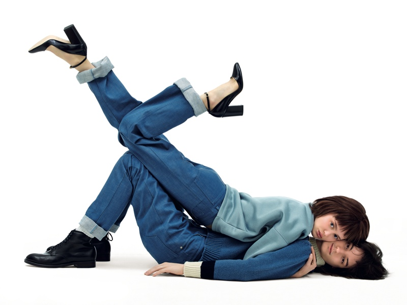 Maison Kitsune Spotlights Couple Style in Fall 2015 Campaign
