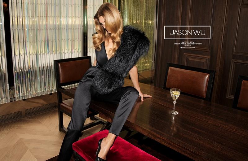 Malgosia Bela Wears the Pants in Jason Wu's Fall 2015 Campaign
