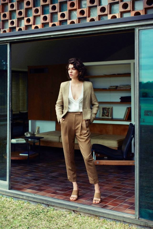 Mango Takes On Seventies Style for Fall 2015 Premium Collection