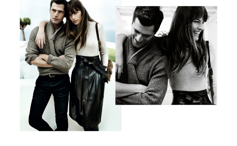 Cameron Russell is On the Go in Massimo Dutti's Fall '15 Ads