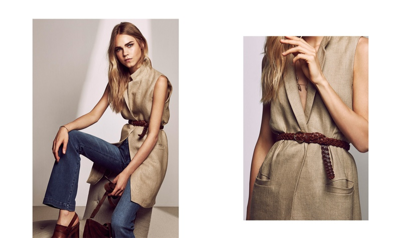 Massimo Dutti Features Shades of the Seventies with Pre-Fall Lineup