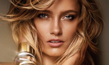 Karmen Pedaru for Michael Kors fragrance advertising campaign