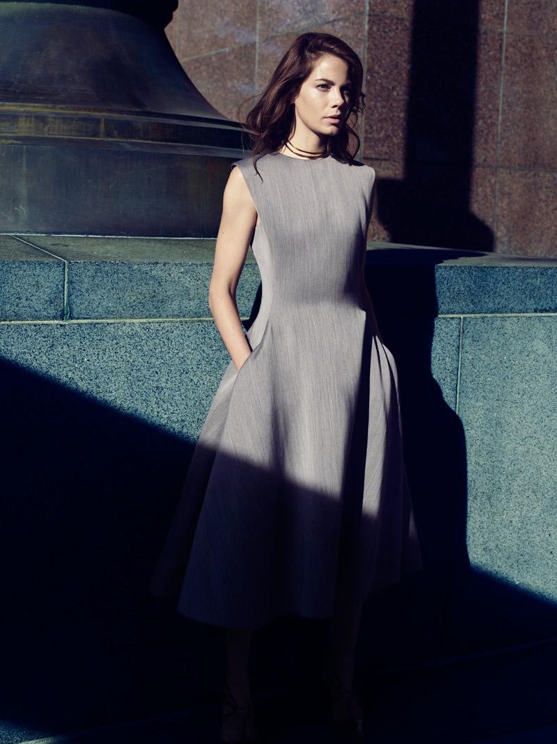 Michelle Monaghan Looks Elegant in Yahoo! Style by Alisha Goldstein