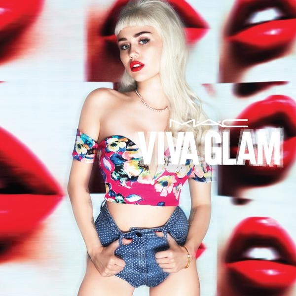 Miley Cyrus for MAC Cosmetics Viva Glam 2015