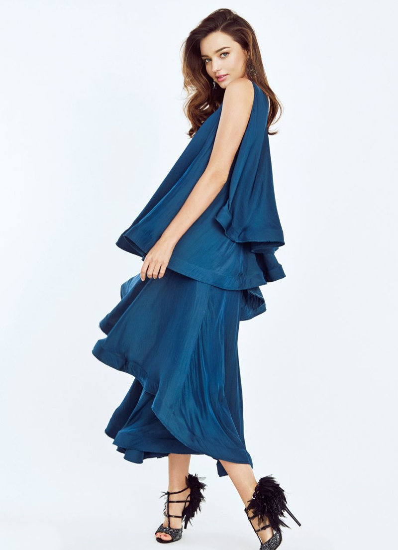 Miranda Kerr Poses Up a Storm in Editorial for Trends Health