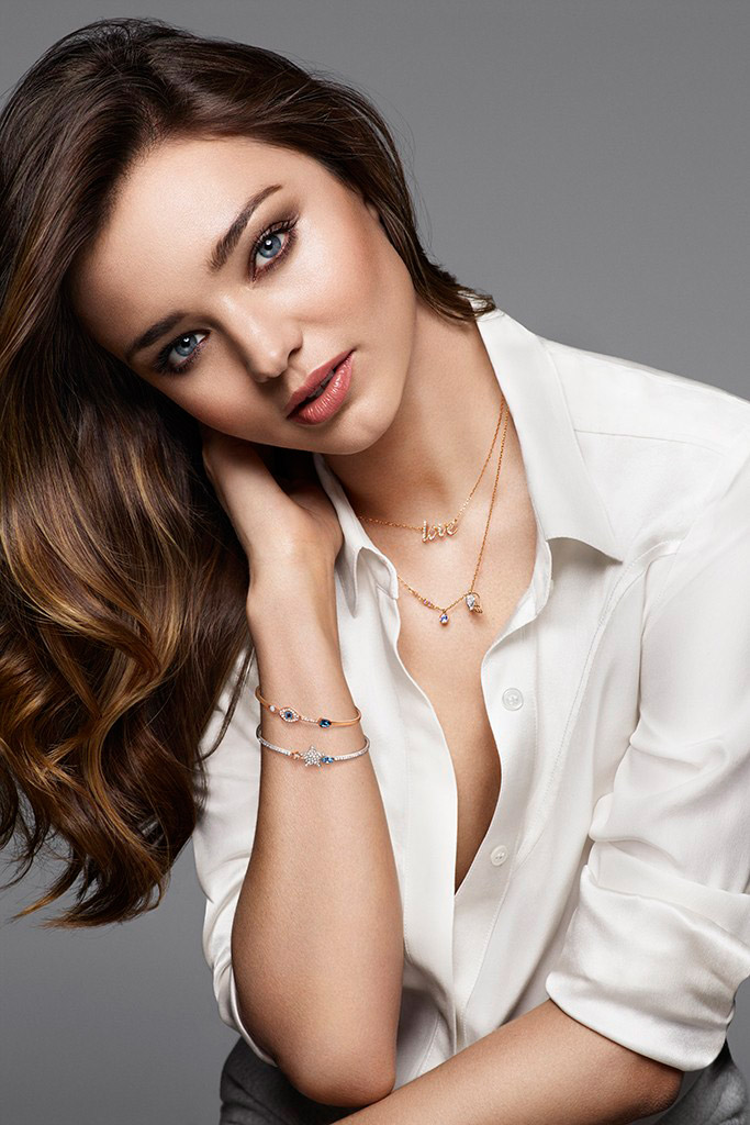 Miranda Kerr Collaborates with Swarovski on Jewelry Collection Miranda Kerr
