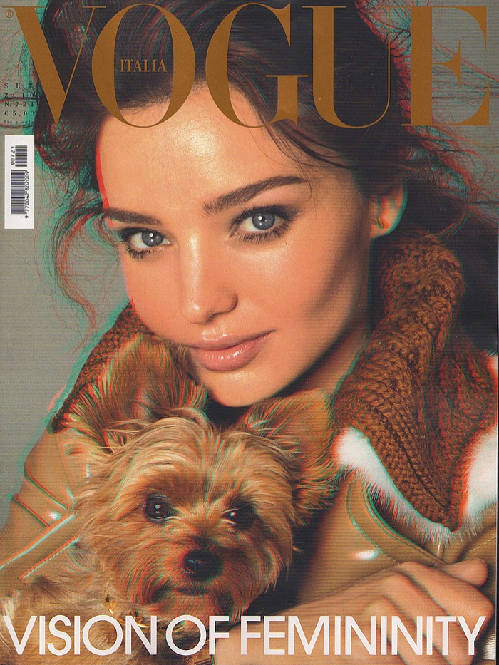 Catch Up with All of Miranda Kerr's Vogue Covers