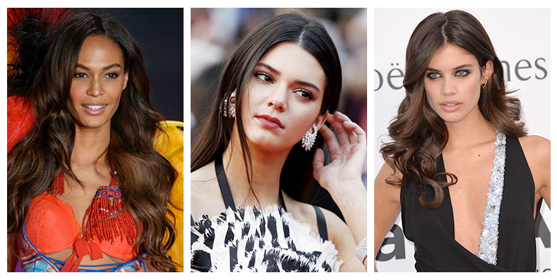 Models With Dark Brown Hair Brunette Beauties Fashion Gone Rogue