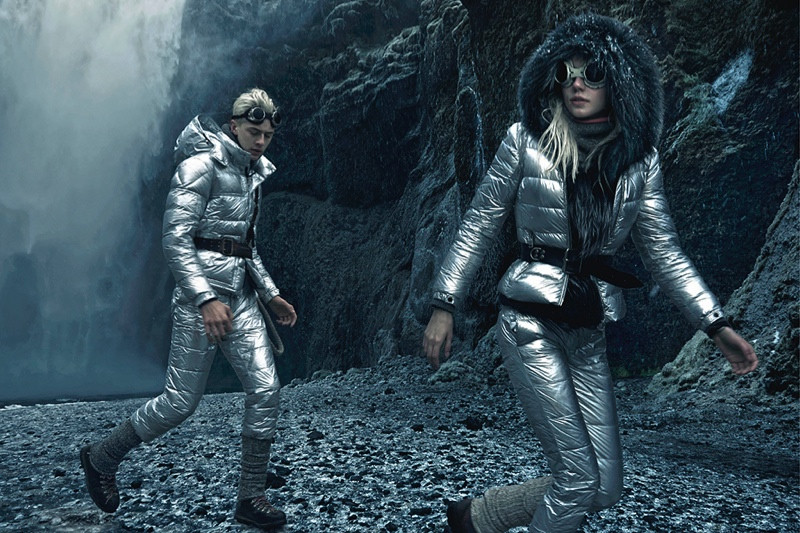 Pyper America Goes on a Fashion Trek with Moncler Fall '15 Ads