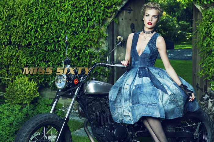 Natalia Vodianova Enchants in Miss Sixty Fall 2015 Campaign