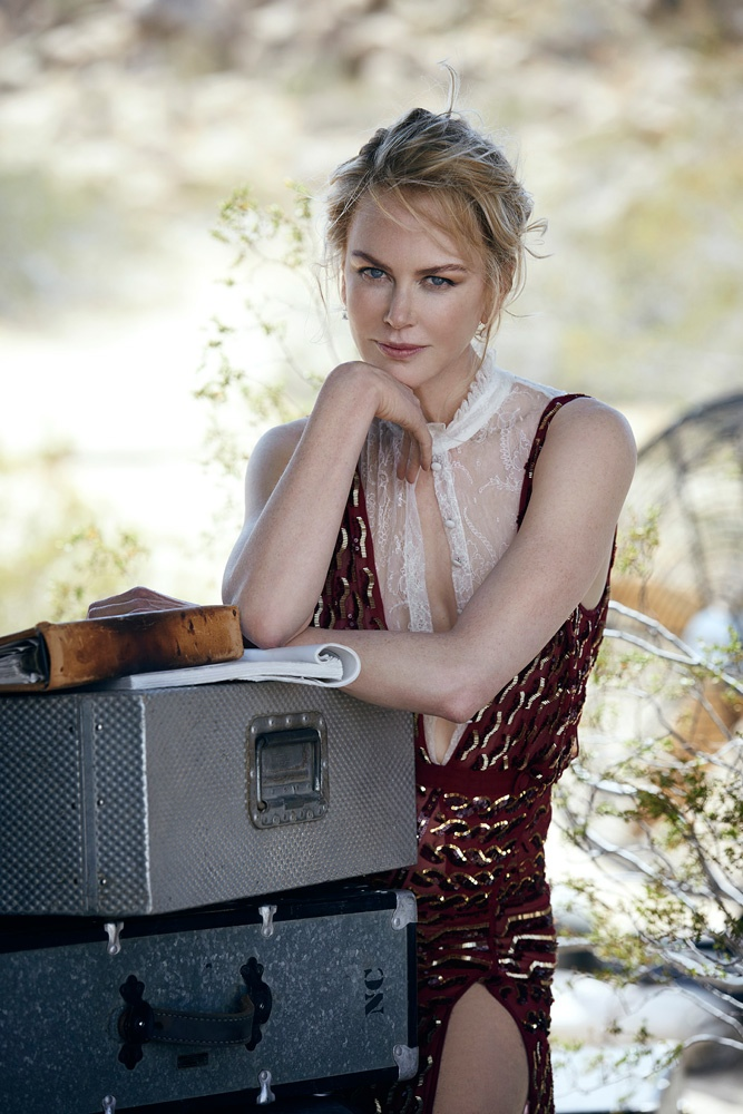 Nicole Kidman Poses for Peter Lindbergh in Cinematic Vogue Feature