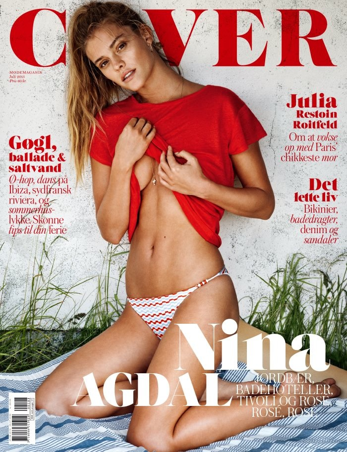 Nina Agdal Heats Up Summer in COVER Magazine Editorial