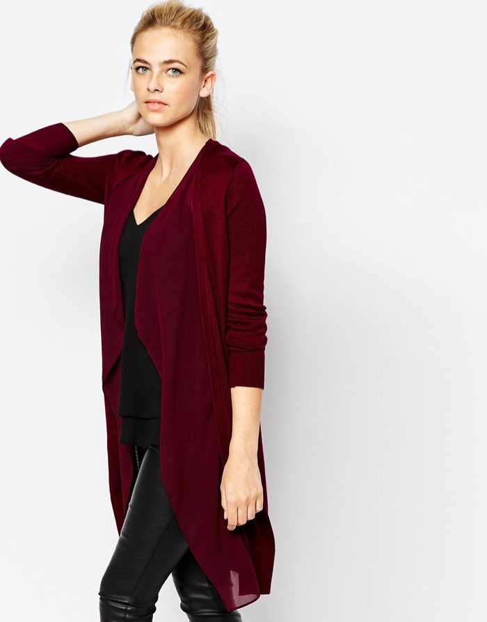 7 Long Cardigans for Fall 2015