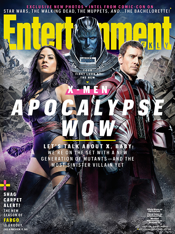 Olivia Munn Gives a First Look at Her Psylocke Costume on 'X-Men' EW Cover