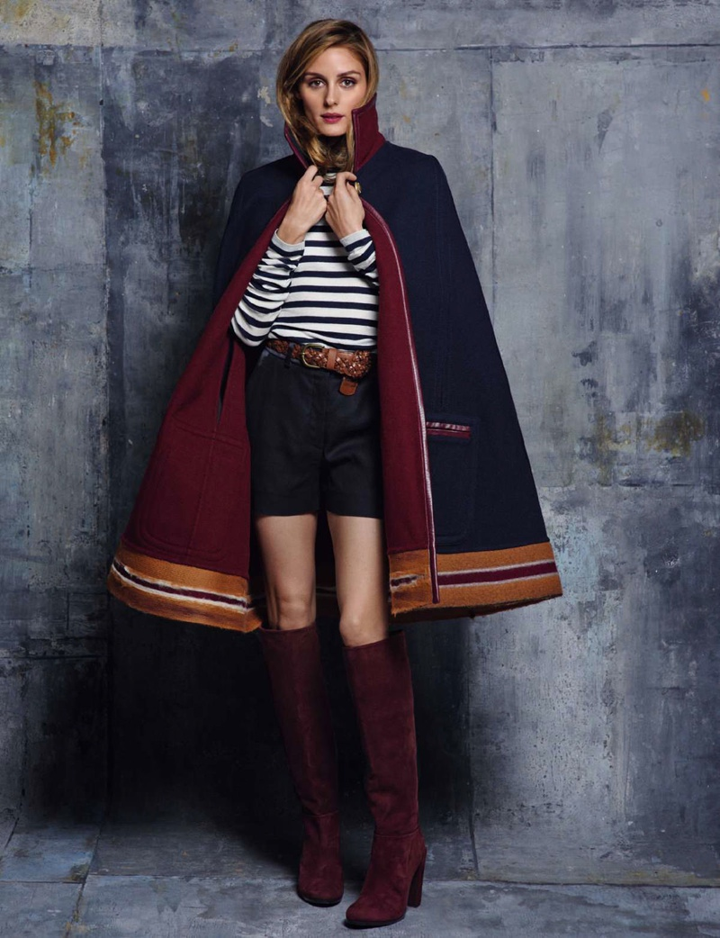 Olivia Palermo Dresses In Tommy Hilfiger Looks For Elle