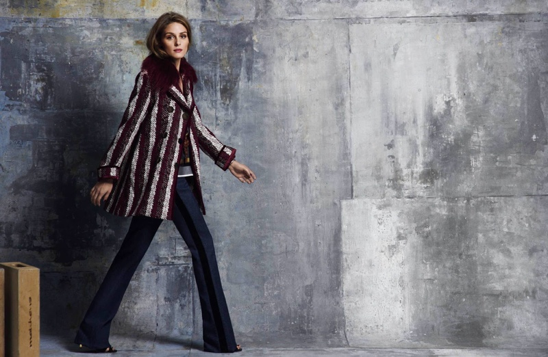 Olivia Palermo Dresses in Tommy Hilfiger Looks for ELLE Spain Cover Story