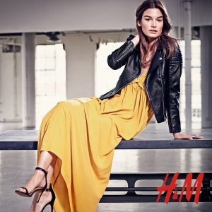Ophelie Guillermand Models Summer Trends for H&M