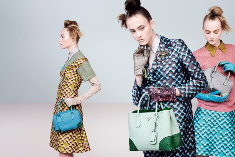 Prada Releases Fall 2015 Campaign Lensed by Steven Meisel
