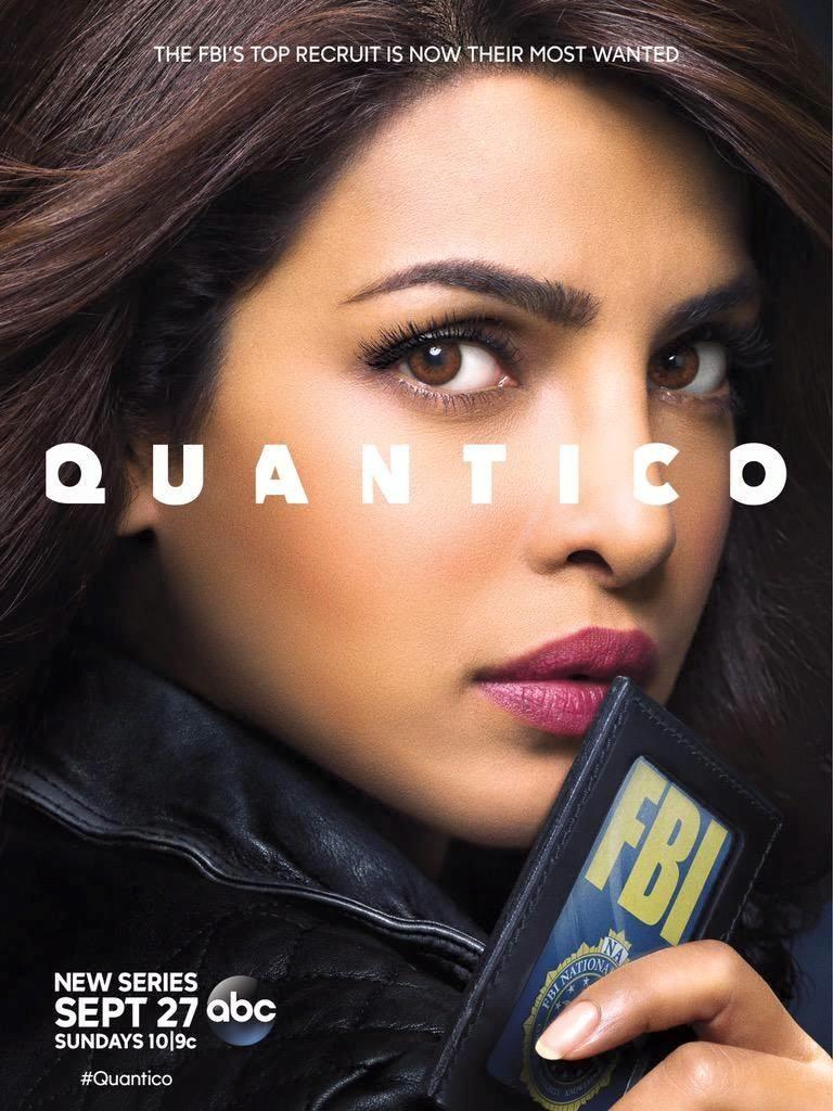 Priyanka Chopra Plays FBI Trainee in 'Quantico' Posters
