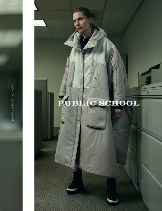 Public School Channels the 90s Office for Fall 2015 Ads