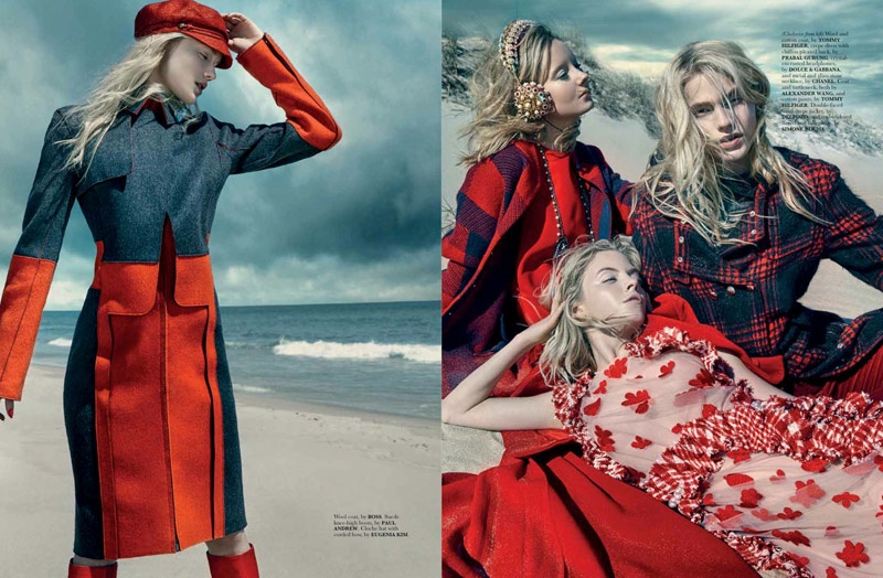A Red-Letter Day: Scarlet Fashion is In for ELLE Singapore