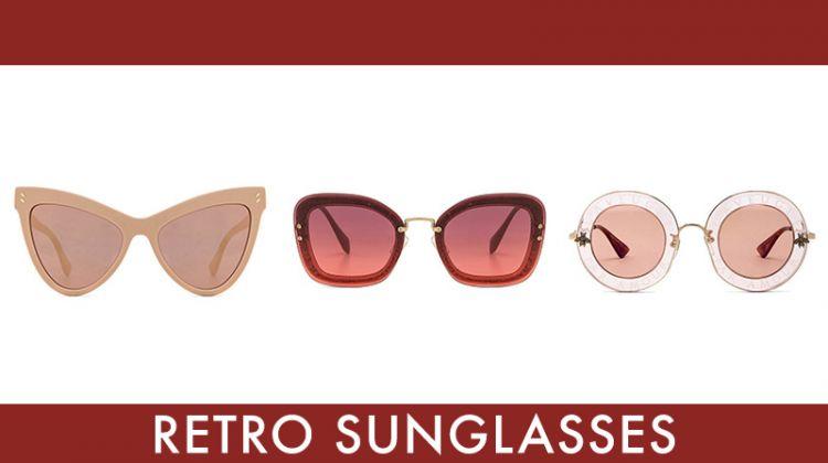 Best retro inspired sunglasses