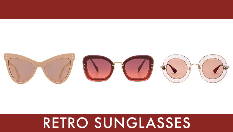 Best retro inspired sunglasses
