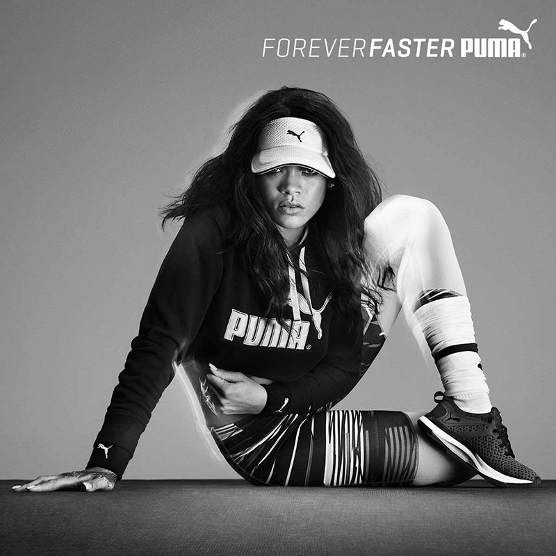 Rihanna is Sitting Pretty in New PUMA Campaign