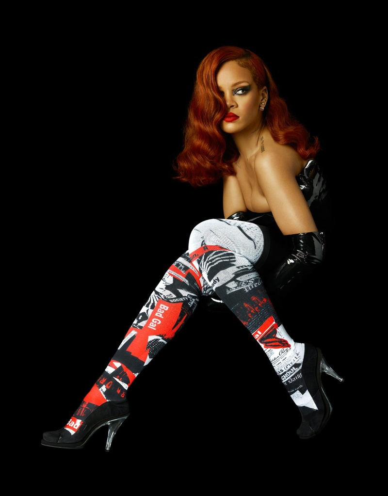Rihanna Teams Up with Stance for Over-the-Knee Socks