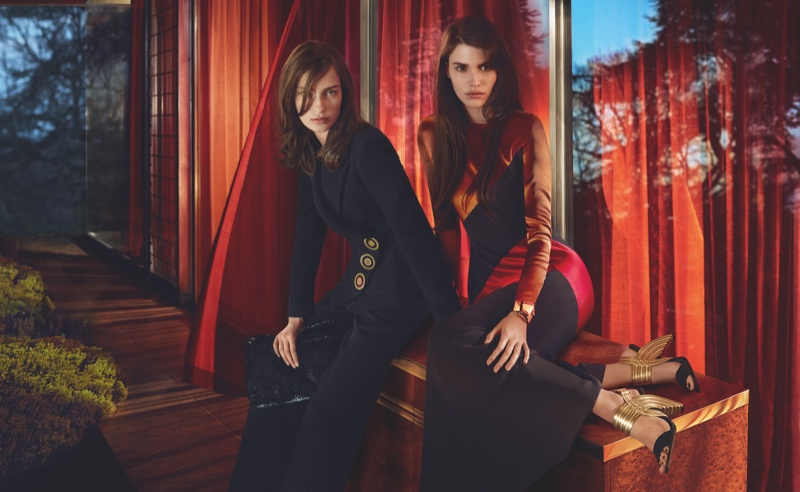 Salvatore Ferragamo Goes Hollywood for Fall 2015 Campaign